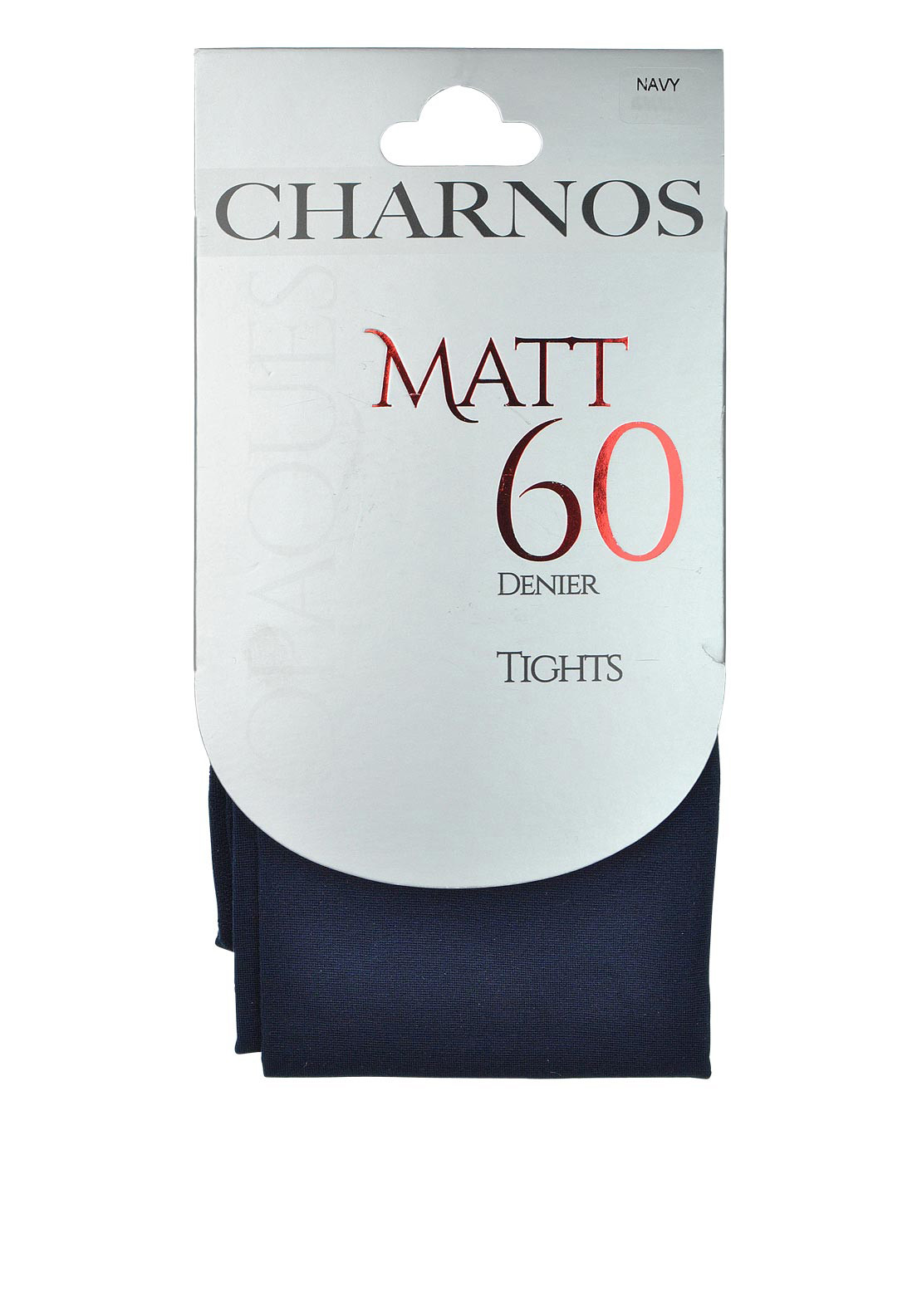 Charnos Opaques Matt 60 Denier Tights, Navy