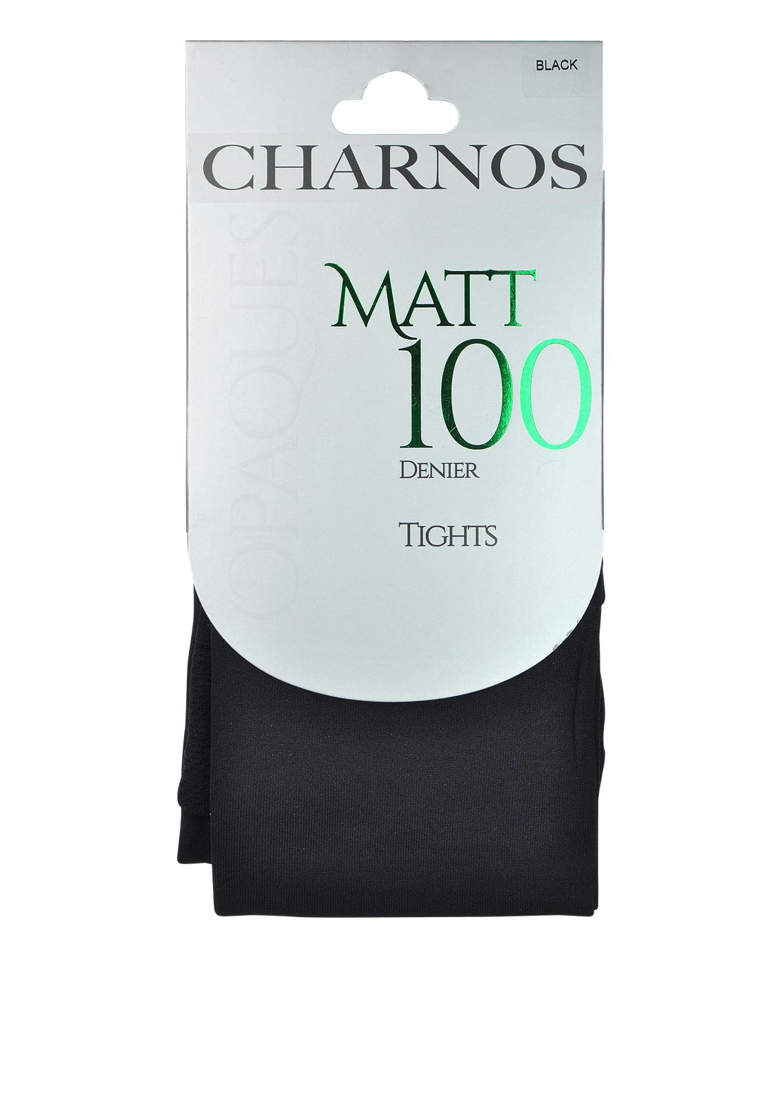 Charnos Opaques Matt 100 Denier Tights, Black