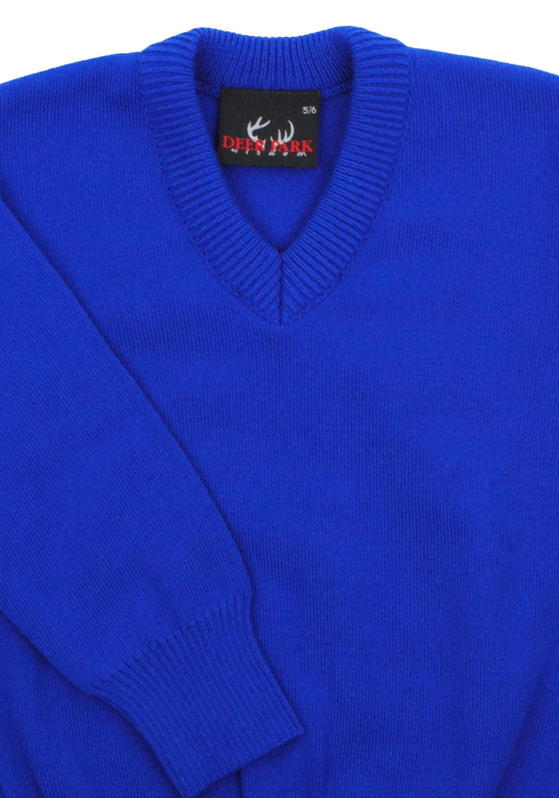 Deer Park School Jumper, Blue