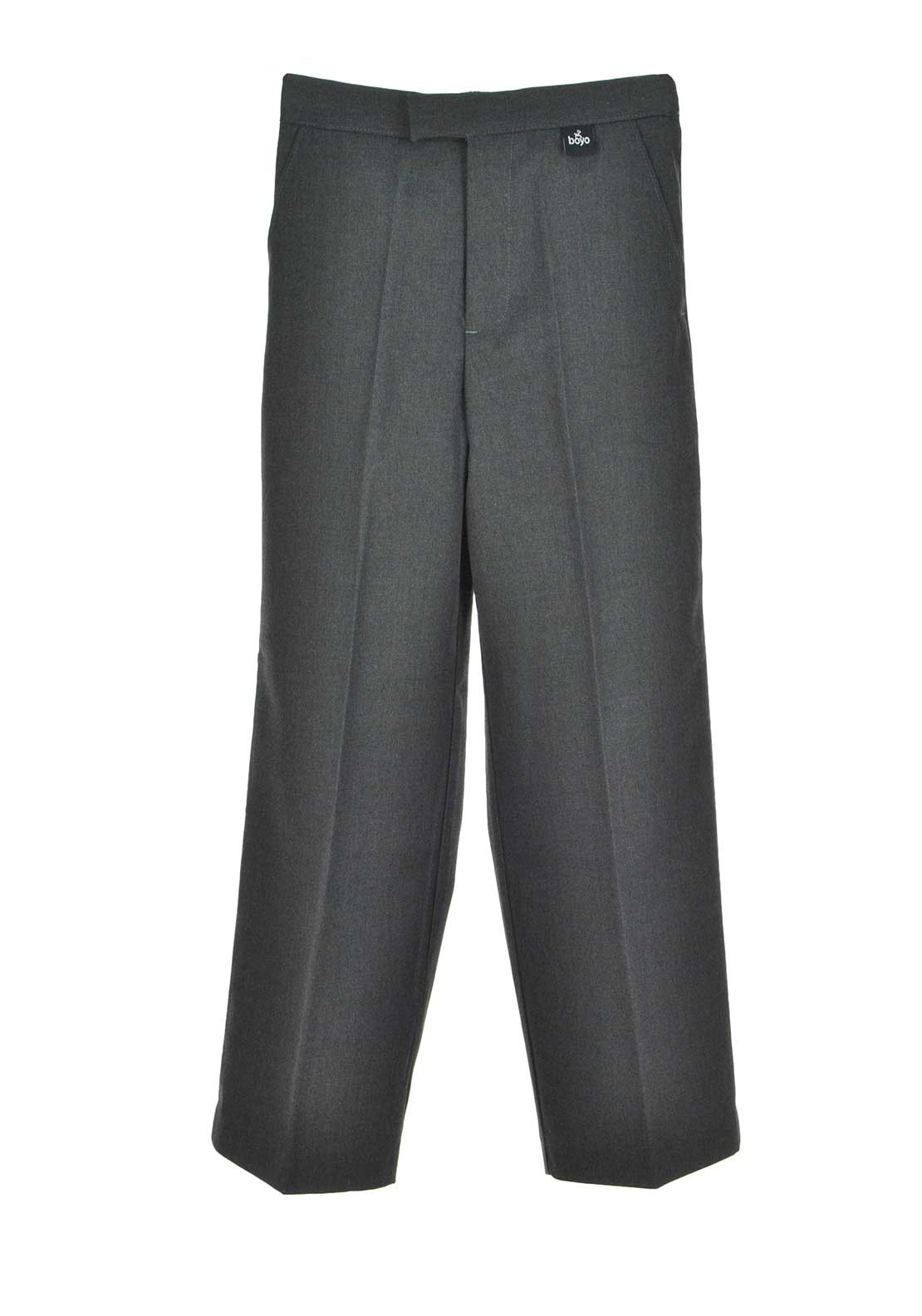 Boys School Uniform Trousers, Grey