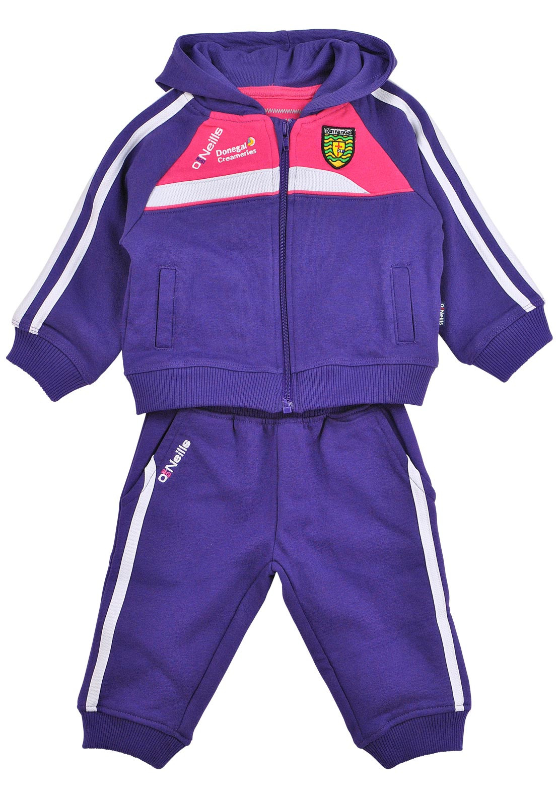 O'Neill's Baby Girls GAA Shauna Donegal Tracksuit, Purple