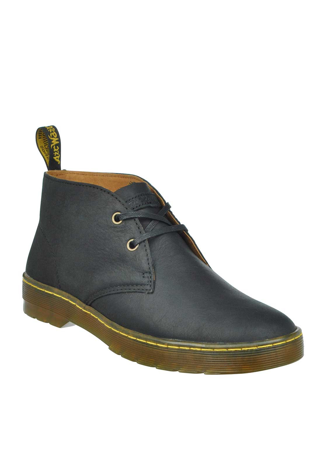 Dr Martens Cabrillo Leather Laced Boots, Black