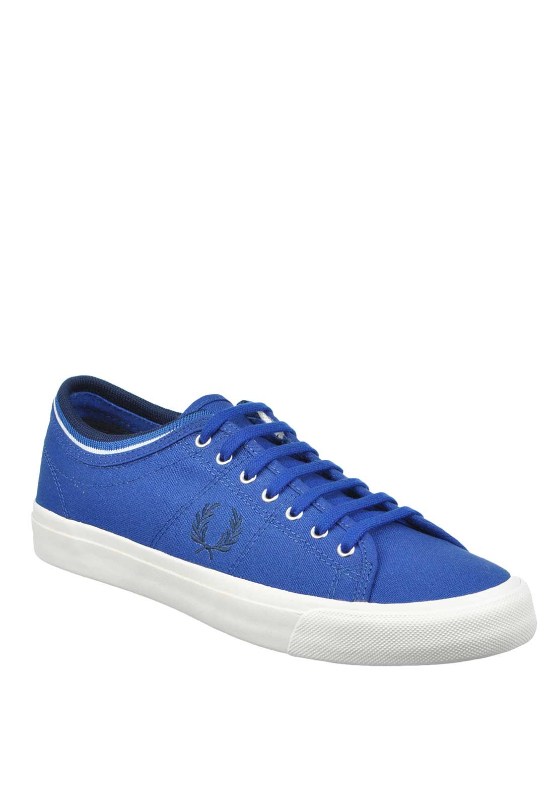 Fred Perry Kendrick Cotton Canvas Trainer, Royal Blue