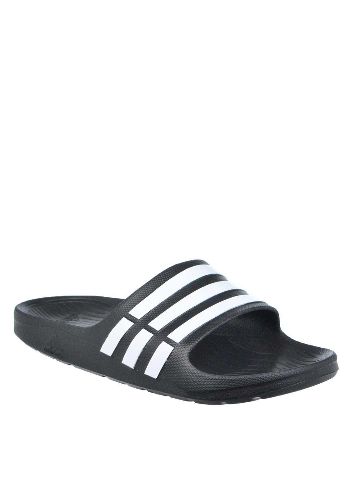 Adidas Duramo Slide Pool Sandals, Black