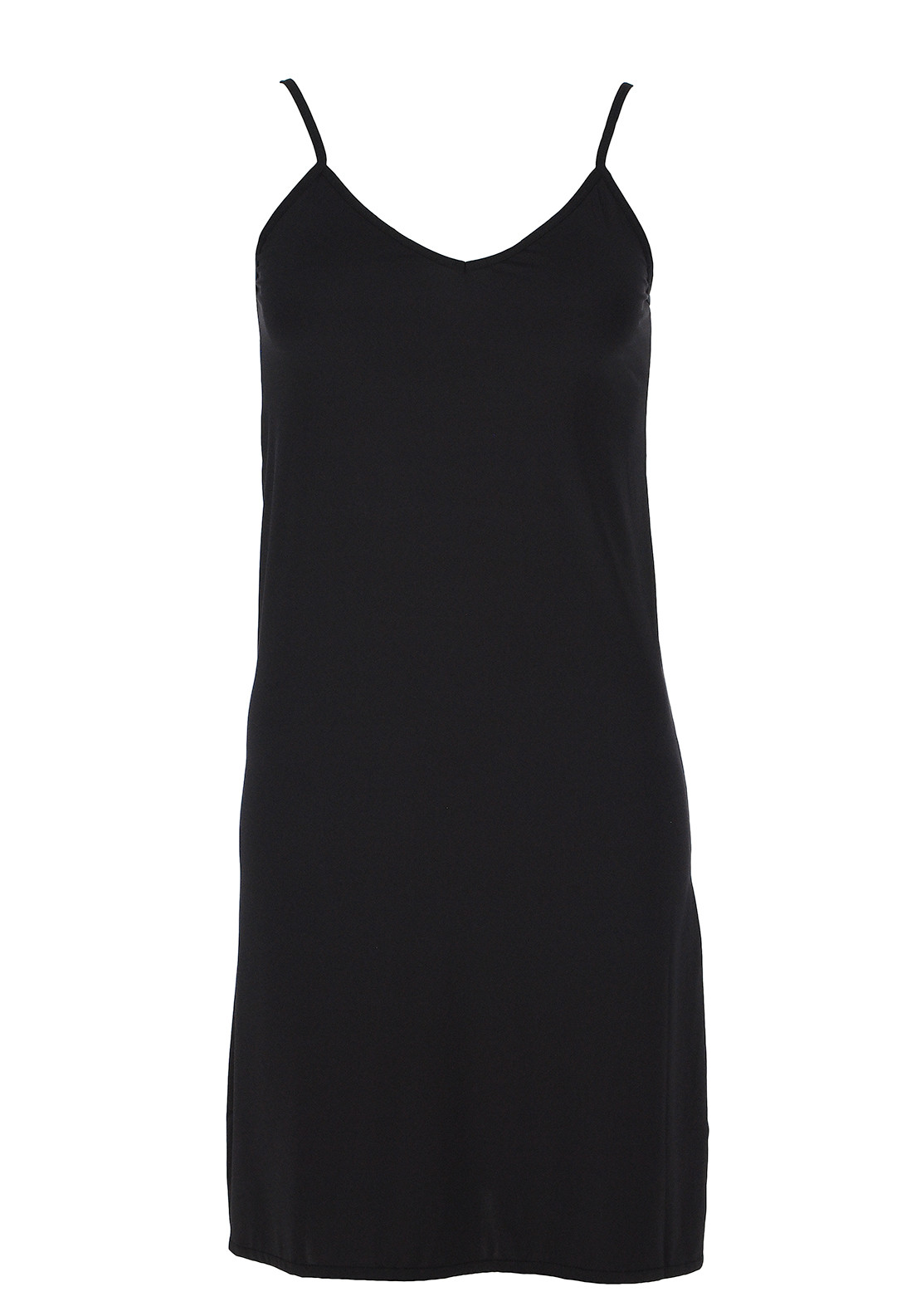 Gaspé V-Neck Slip, Black