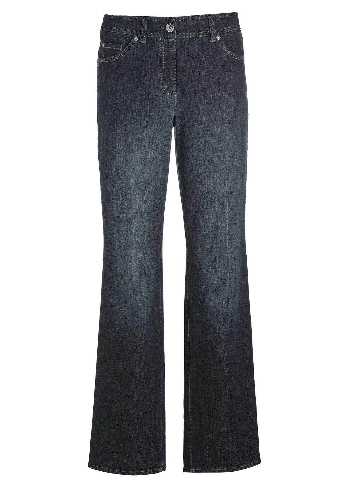 Gerry Weber Danny Wide Leg Jeans, Dark Denim