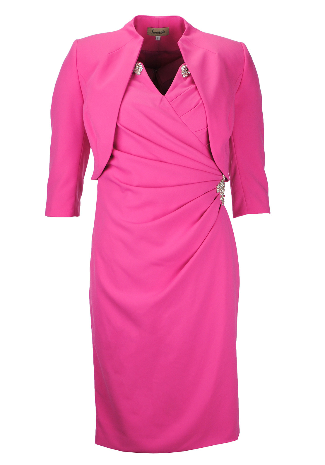 Irresistible Dress and Bolero Jacket, Pink