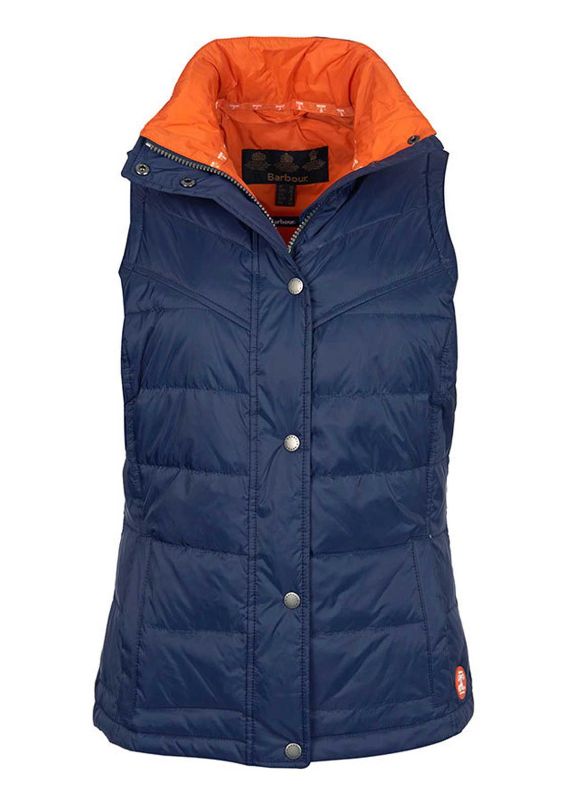 Barbour Womens Bowline Padded Gilet, Navy