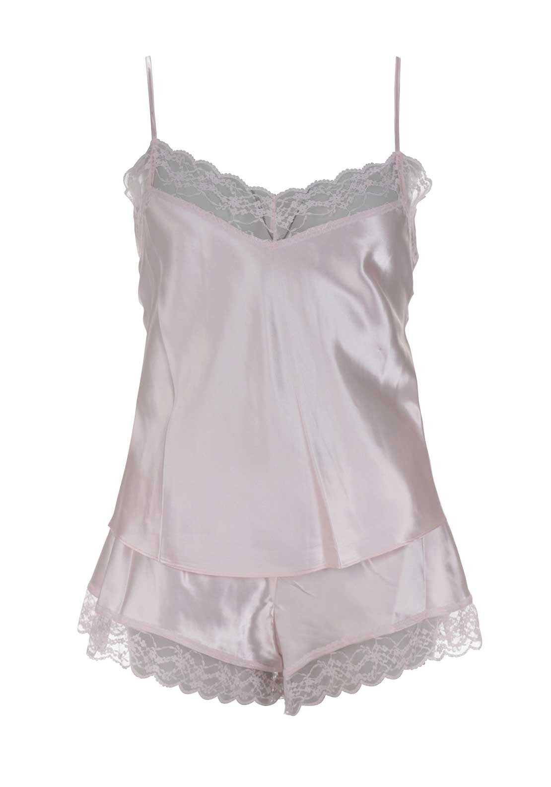 Marlon Chemise and Short Set, Pink