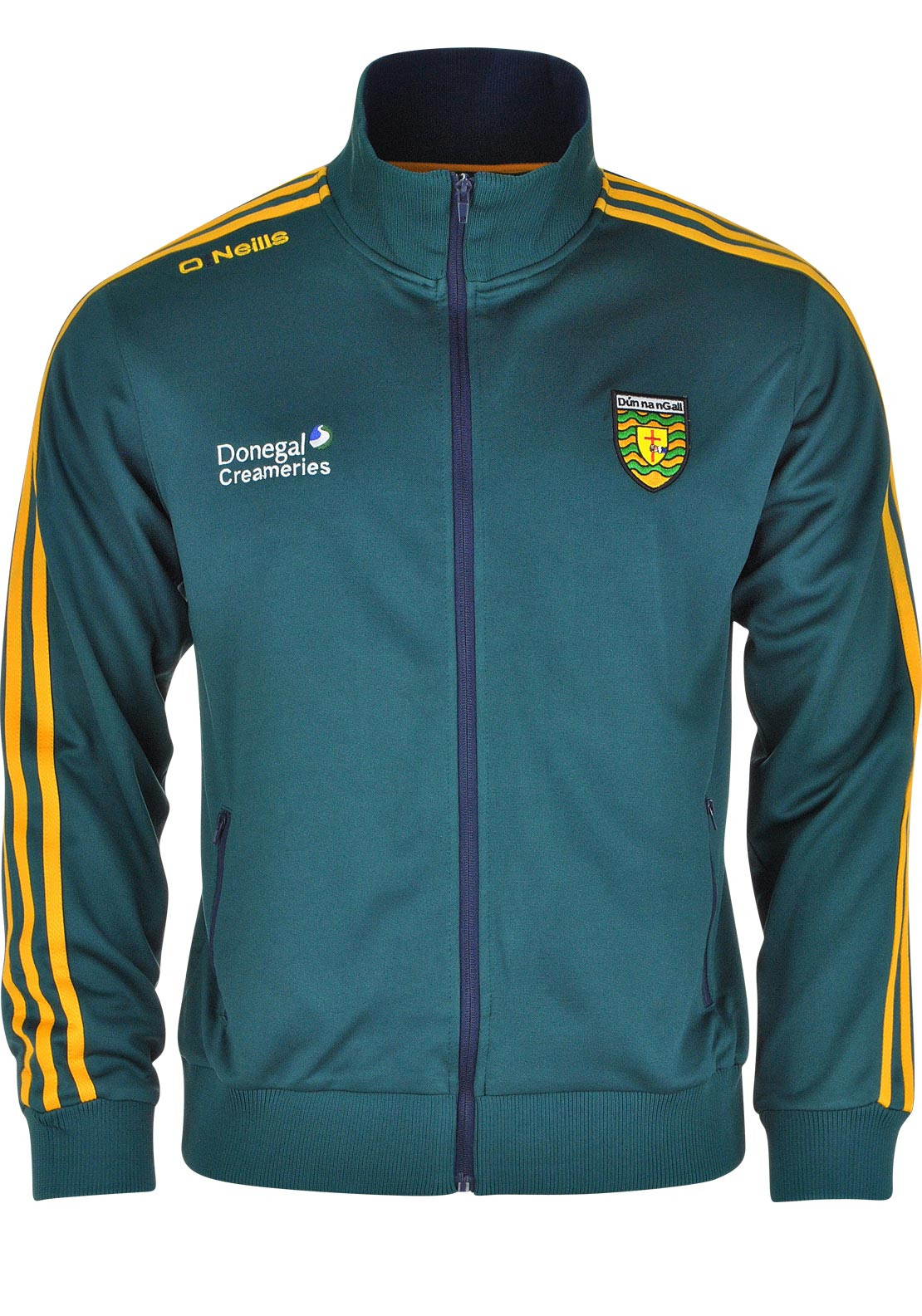 O'Neills Donegal GAA Adults Marlon Retro Zip Through Jacket, Green