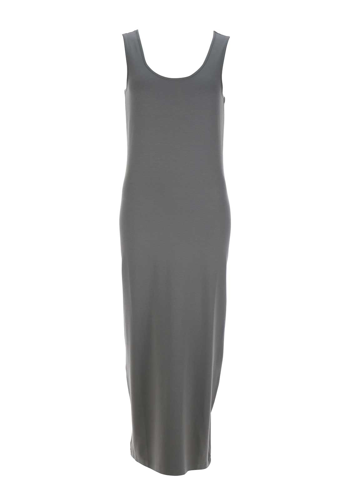 Naya Sleeveless Jersey Maxi Dress, Grey