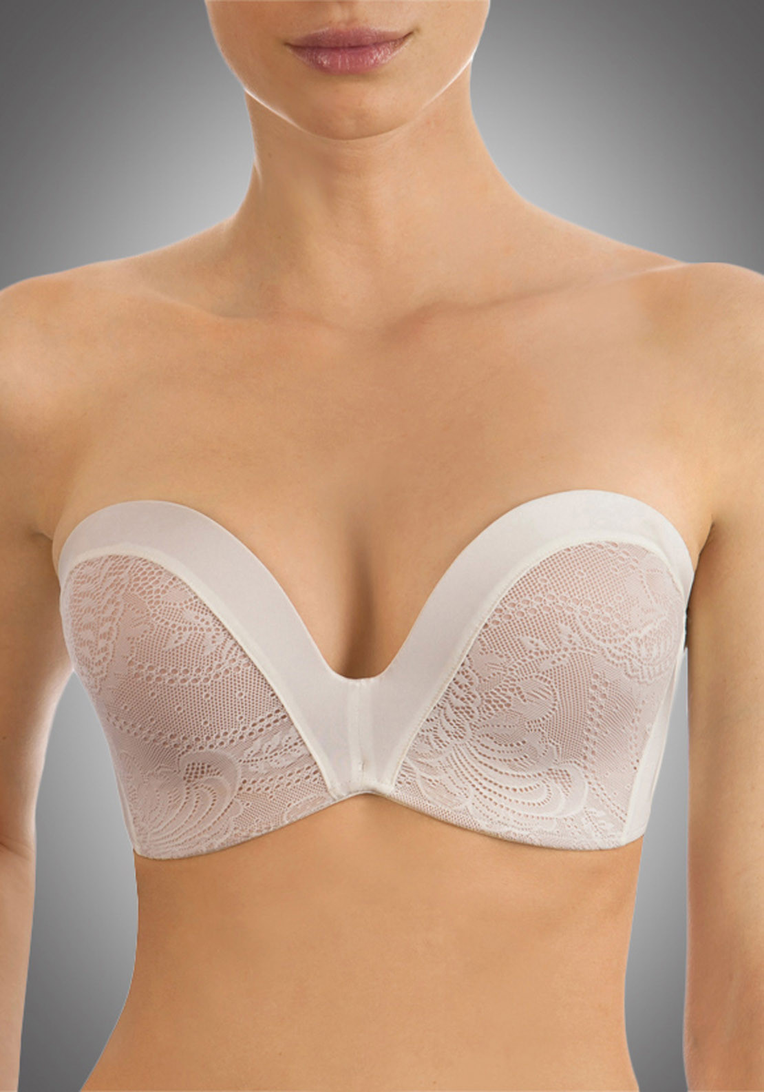 Wonderbra Ultimate Strapless Bra, Ivory
