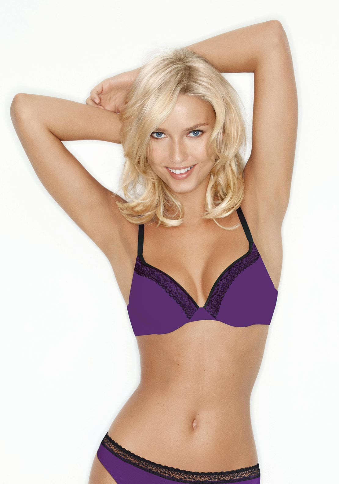 Wonderbra Crazy Dressing Room T-Shirt Bra, Purple