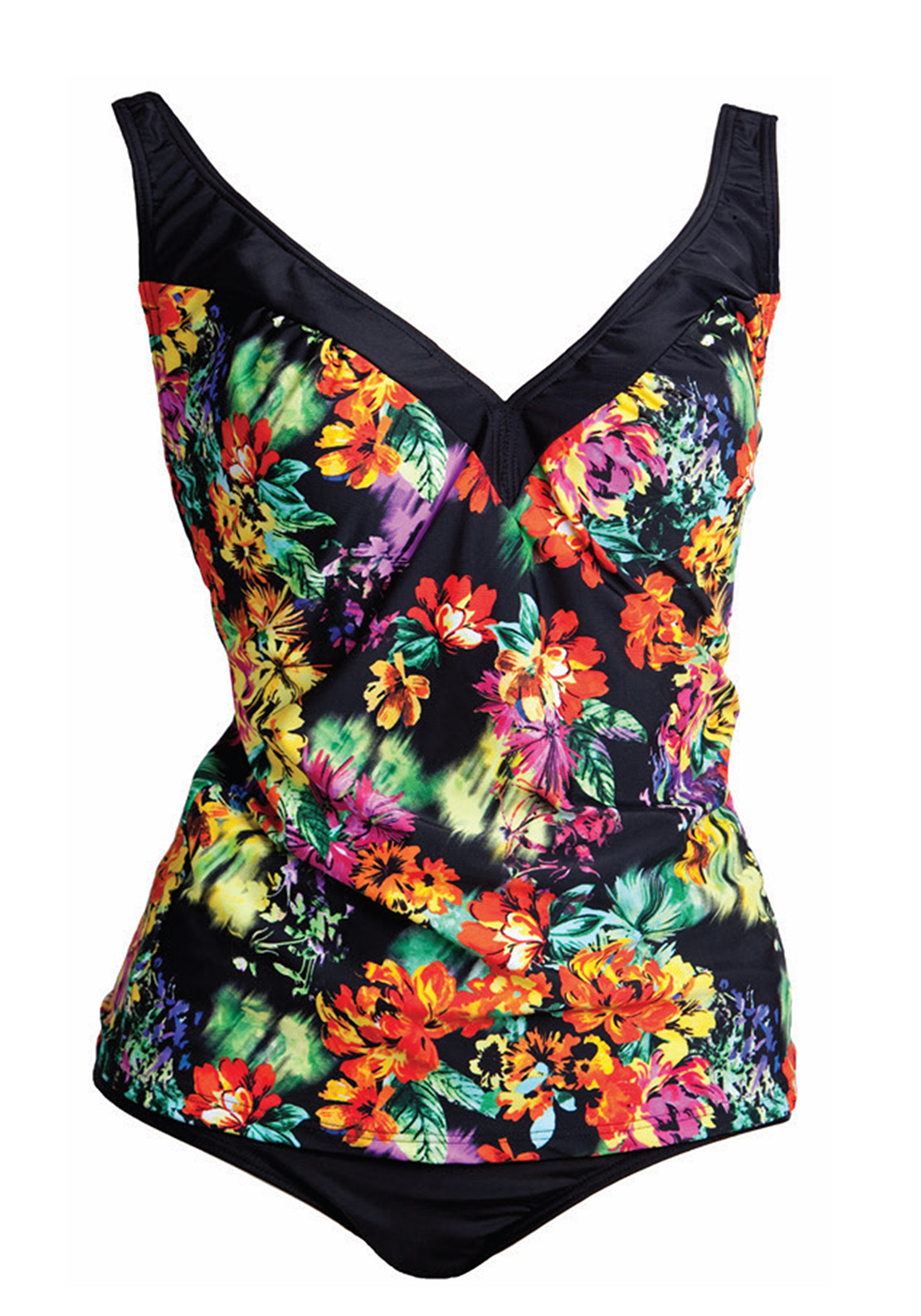 Pour Moi? Trinidad Control Tankini Set, Multi-Coloured
