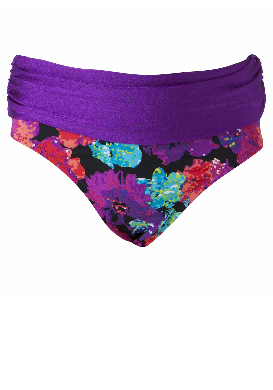 Pour Moi? Cosmopolitan Fold Bikini Brief, Multi-Coloured