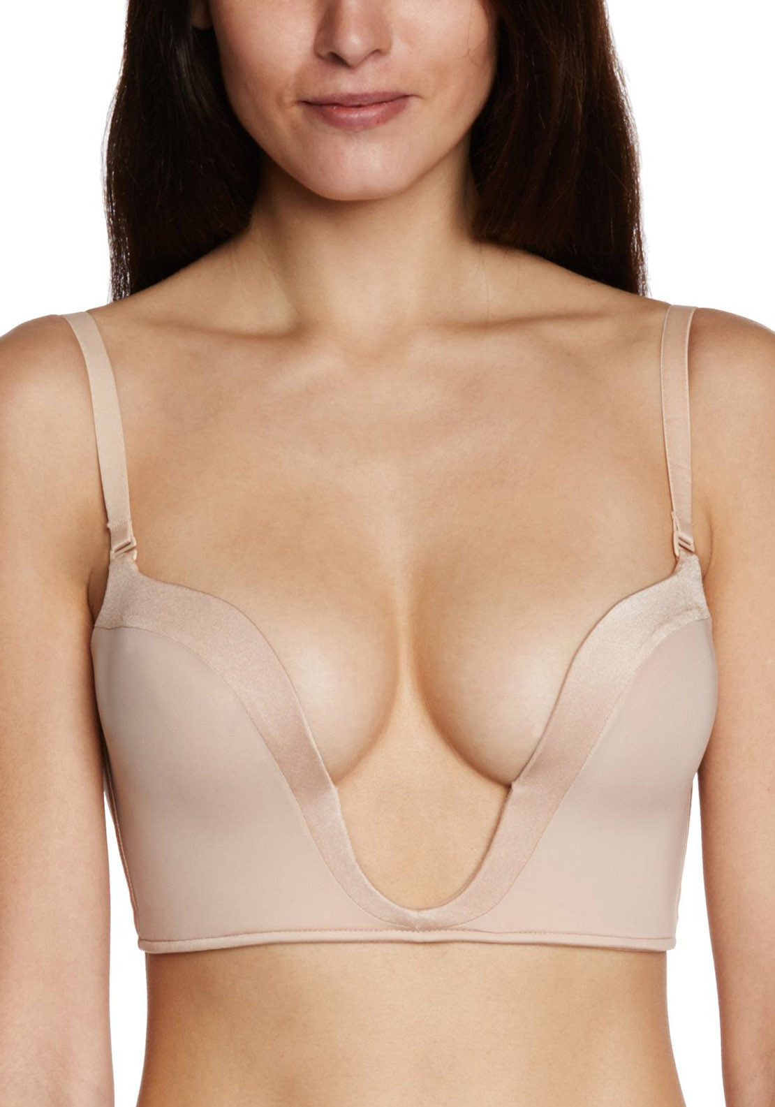 Wonderbra Perfect Plunge Bra, Nude