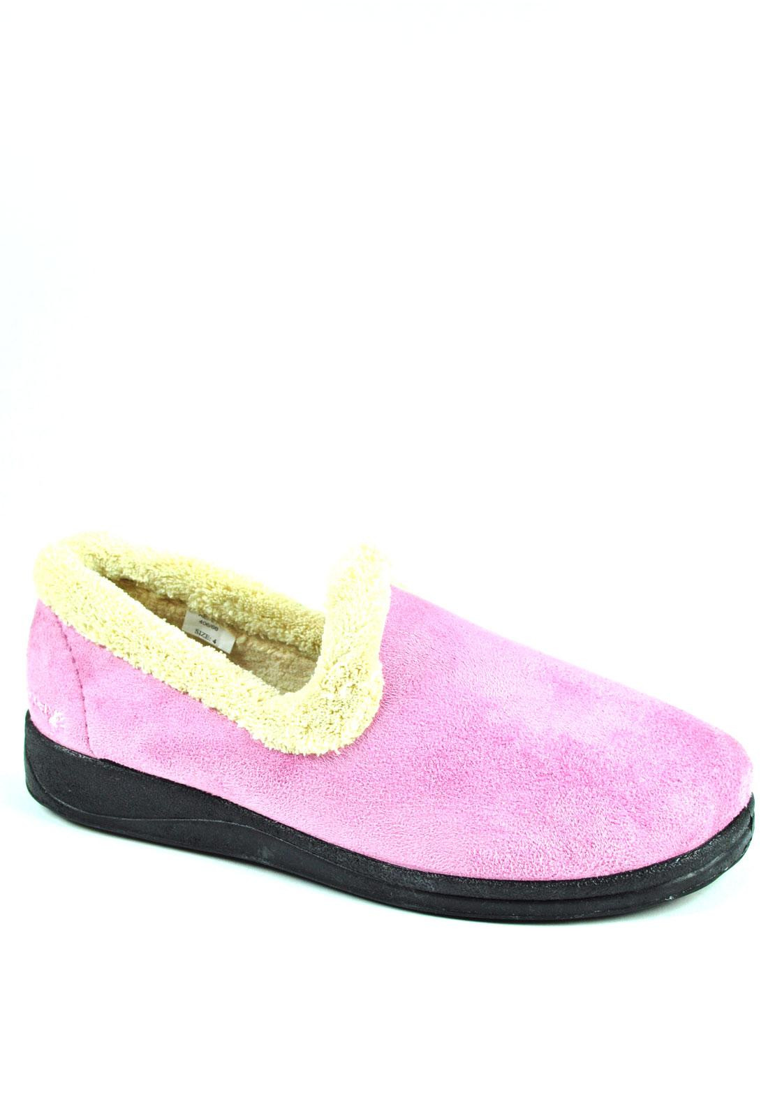 Padders Women's Repose Slippers, Dusty Pink