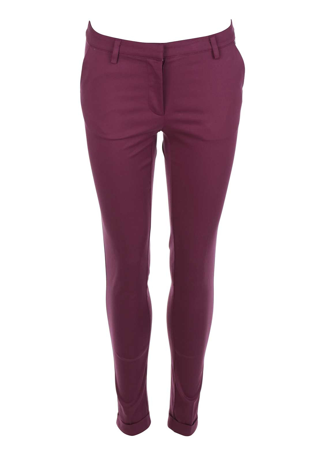 Rant & Rave Trudy Tailored 7/8 Trousers, Pink Rose