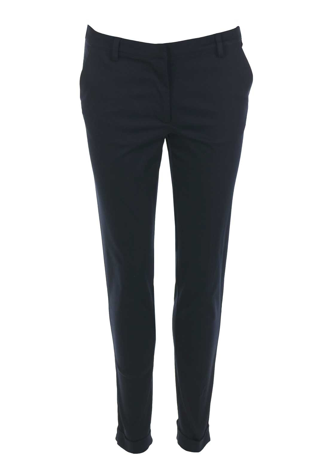 Rant & Rave Trudy Tailored 7/8 Trousers, Navy