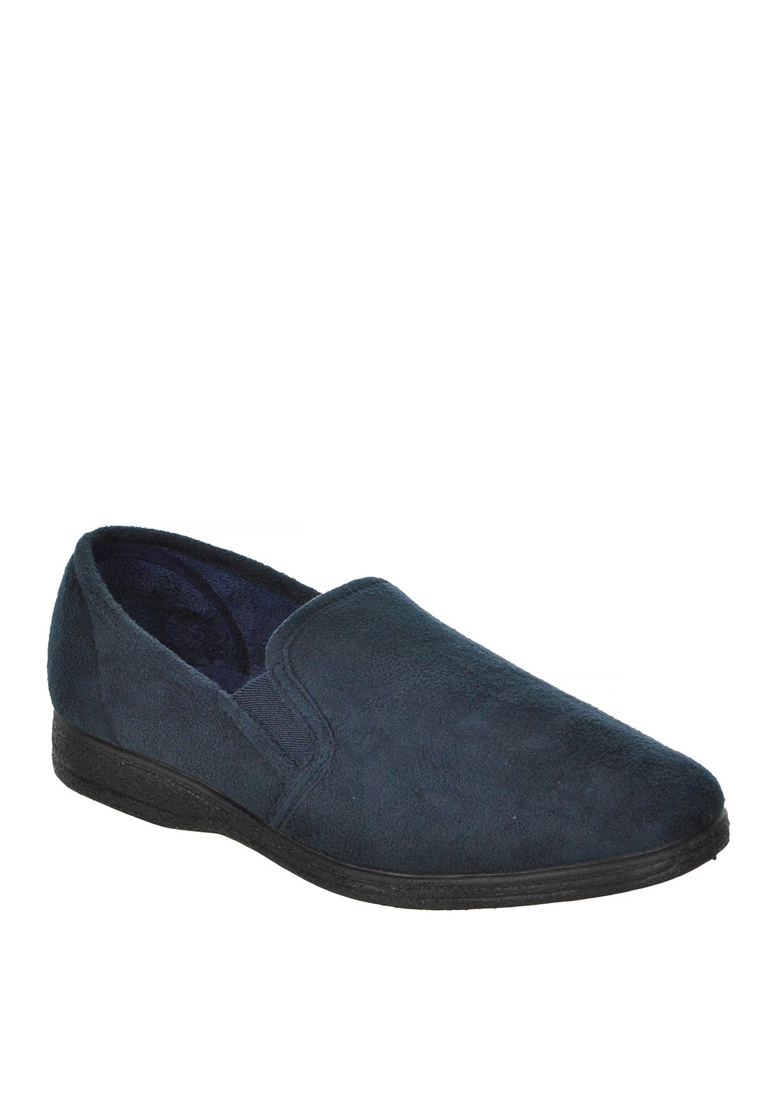 Silentnight Mens Oxford Bedroom Slipper, Navy