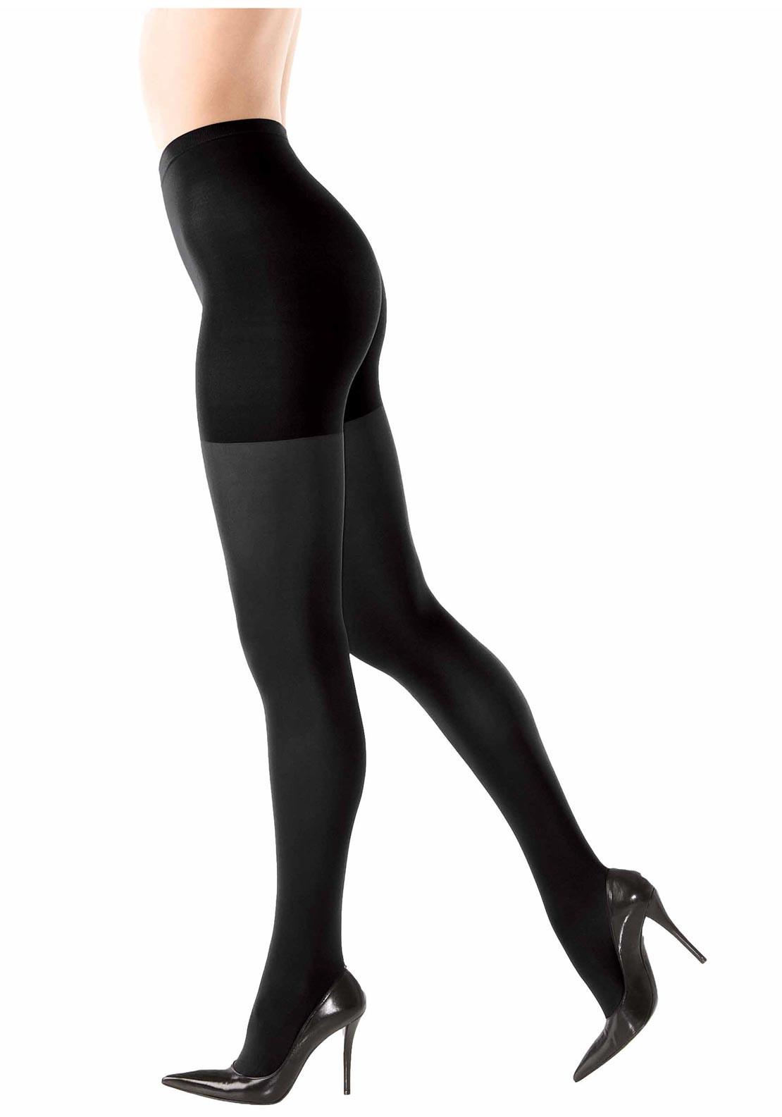 Spanx Tight End Bootyfull 70 Denier Tights, Black