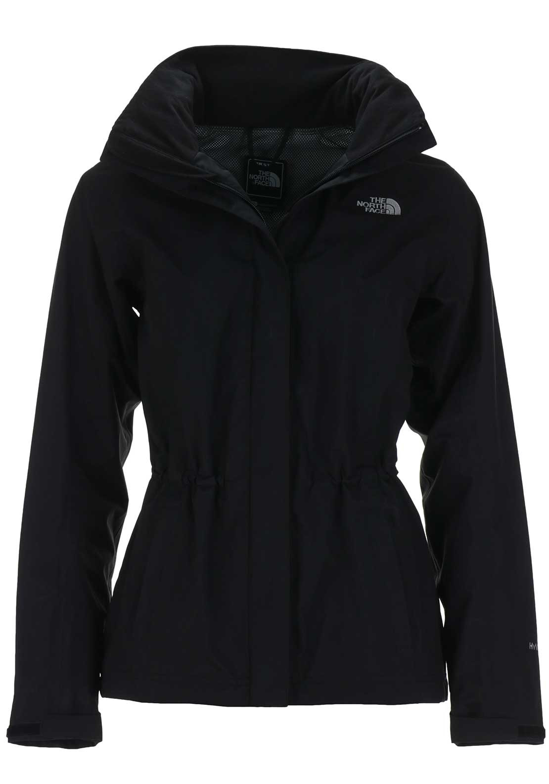 The North Face Womens Stratos Hooded Parka Jacket, Black