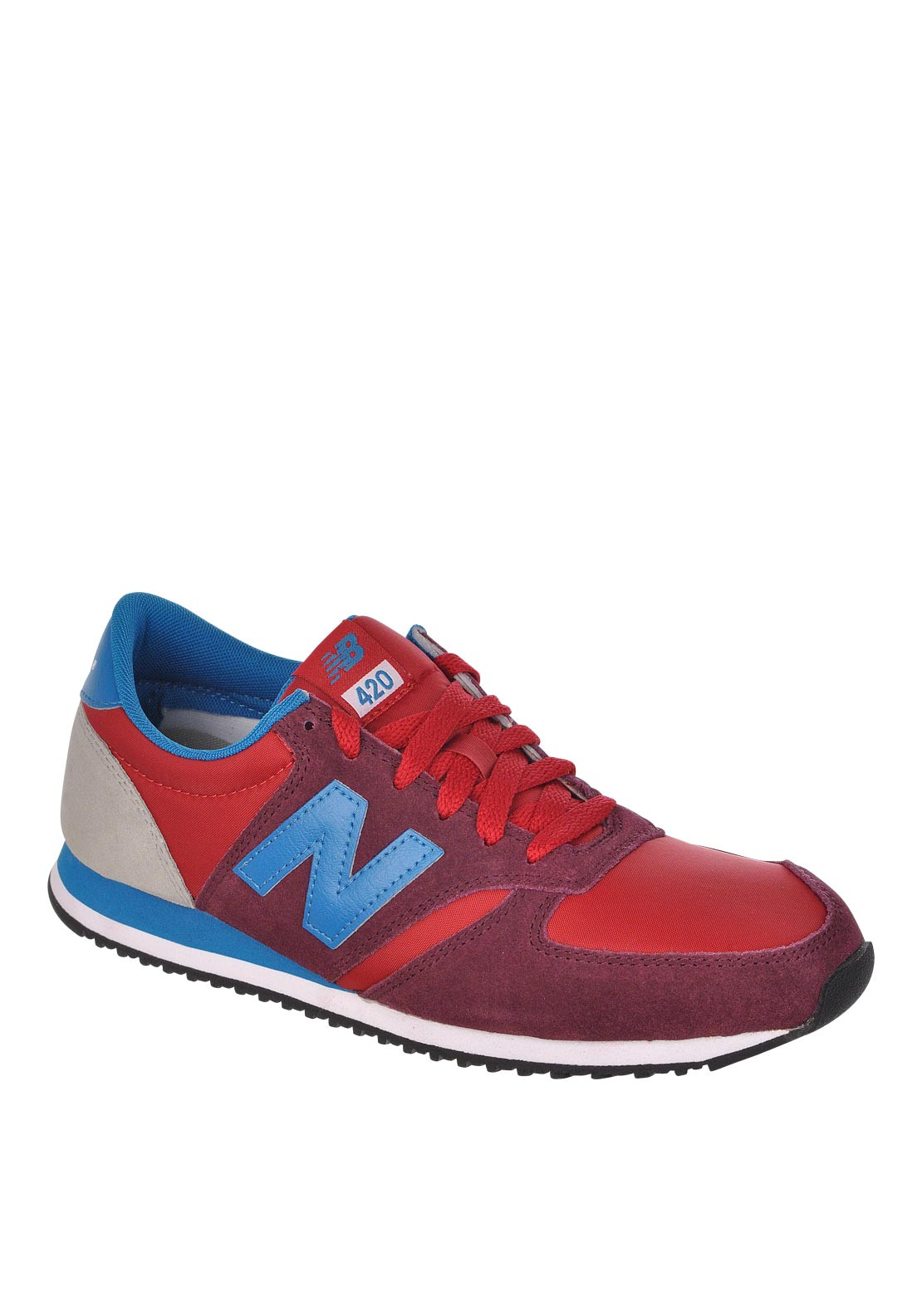 New Balance Mens 420 Fashion Runners, Red
