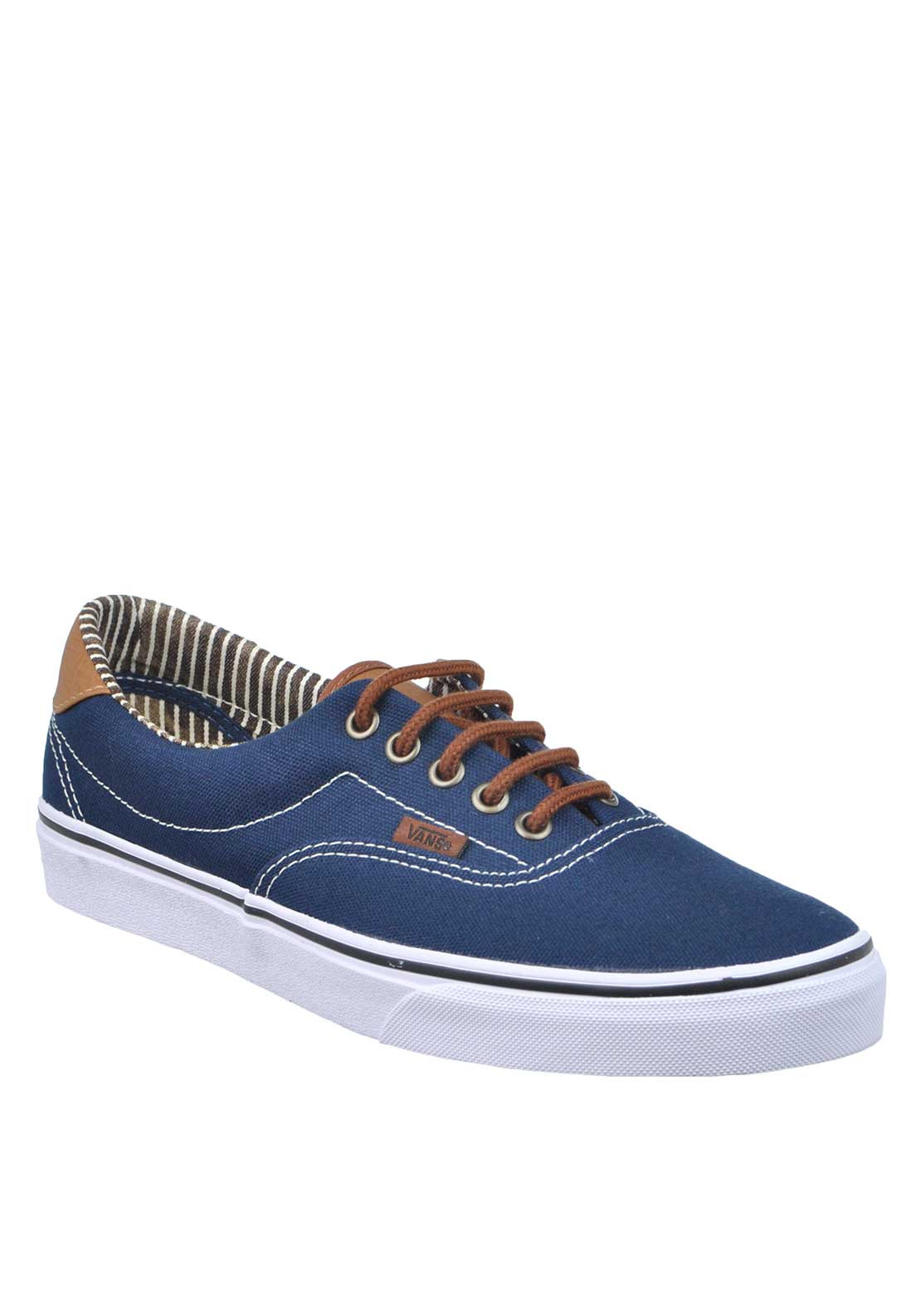 Vans Mens C&L Era 59 Lace Up Trainers, Navy