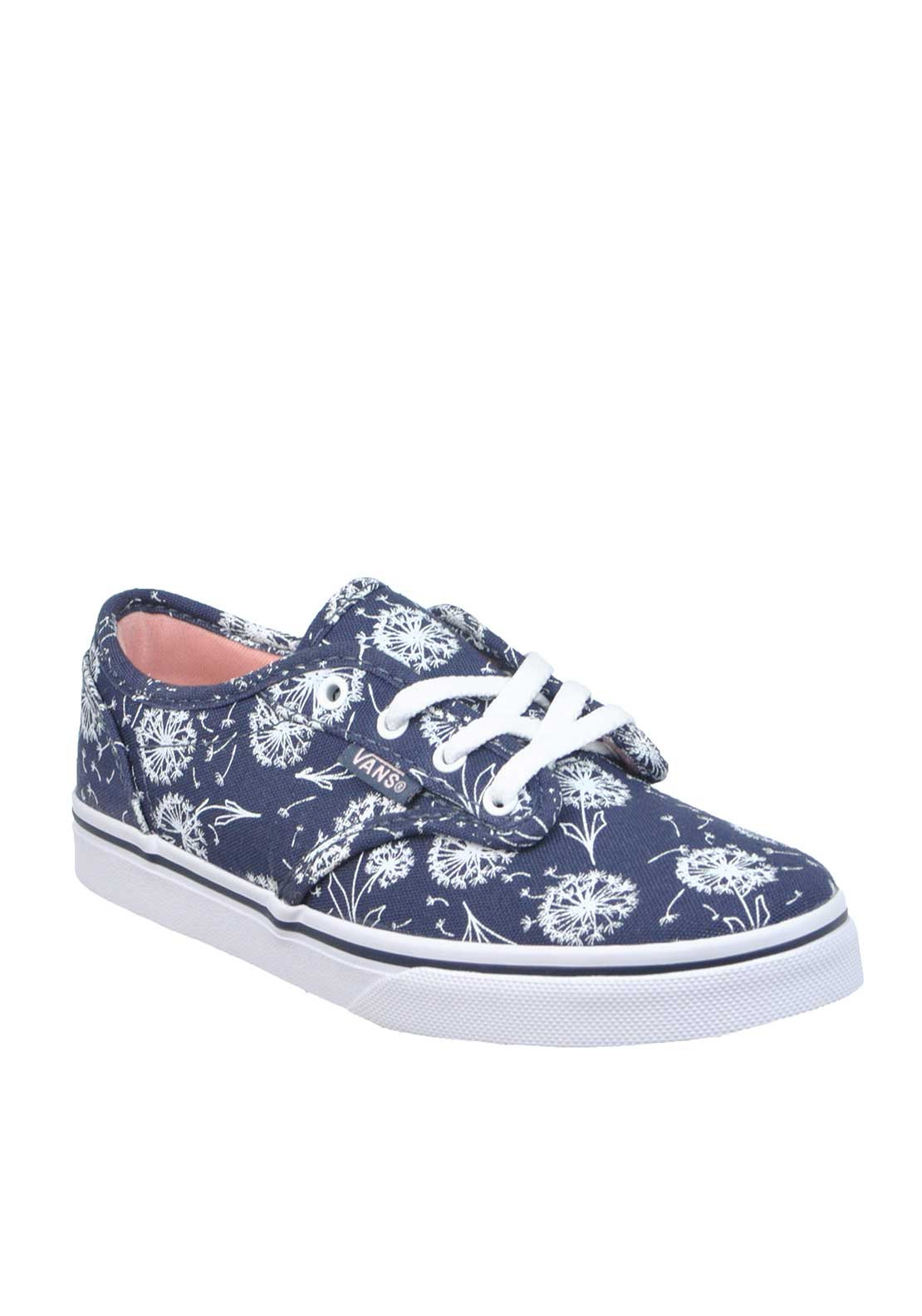 Vans Girls Dandelion Atwood Trainers, Navy
