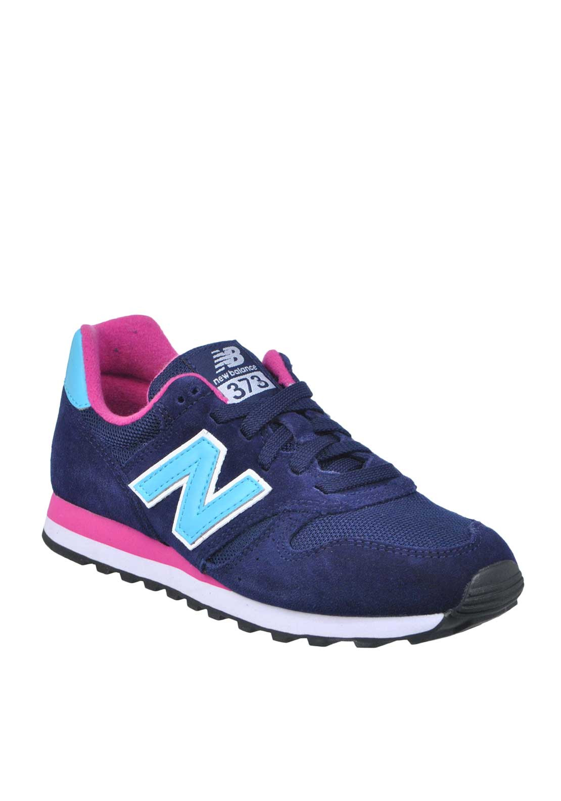 New Balance Womens 373 Fashion Runners, Navy