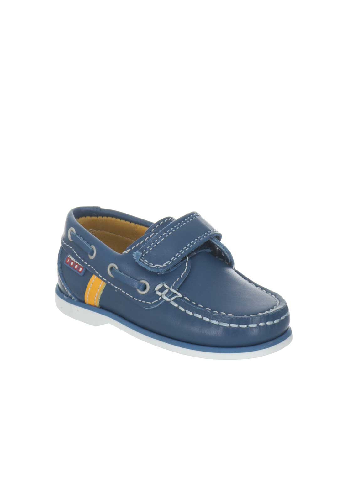 pablosky baby boys leather loafer shoes navy mcelhinneys