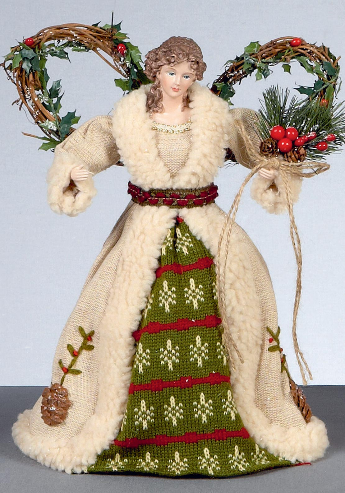 Premier Christmas Angel Tree Topper Decoration