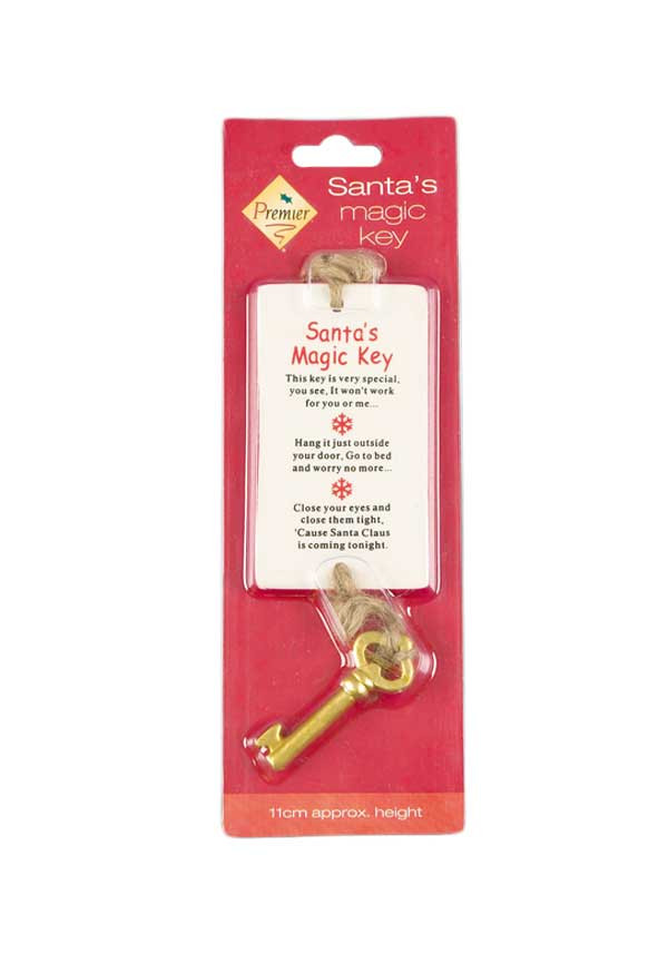 Premier Christmas Santa's Magic Key, 11cm