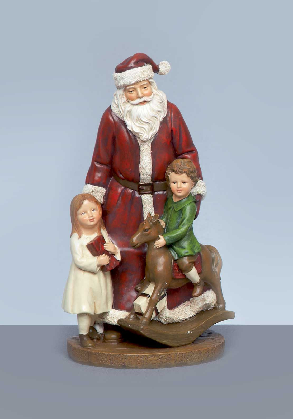 Premier Christmas Santa with Children Ornament