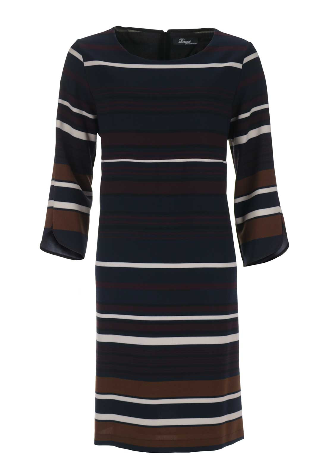 Peruzzi Striped Tunic Dress, Multi-Coloured