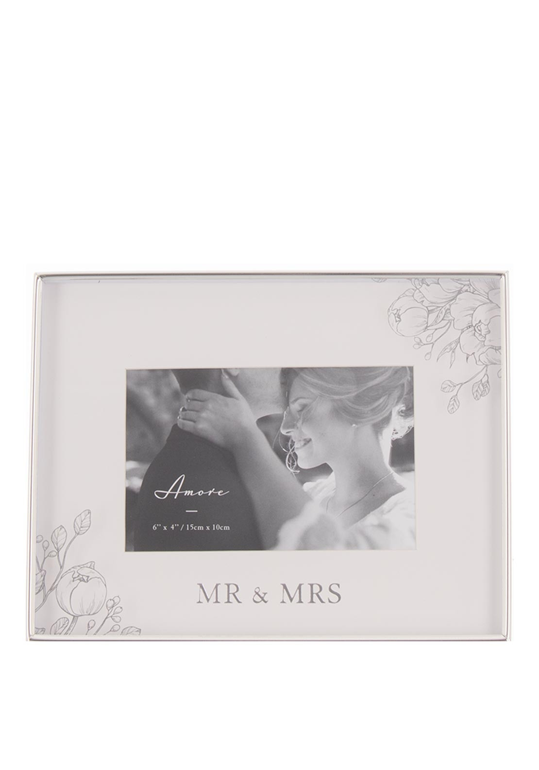 Amore Mr and Mrs Photo Frame