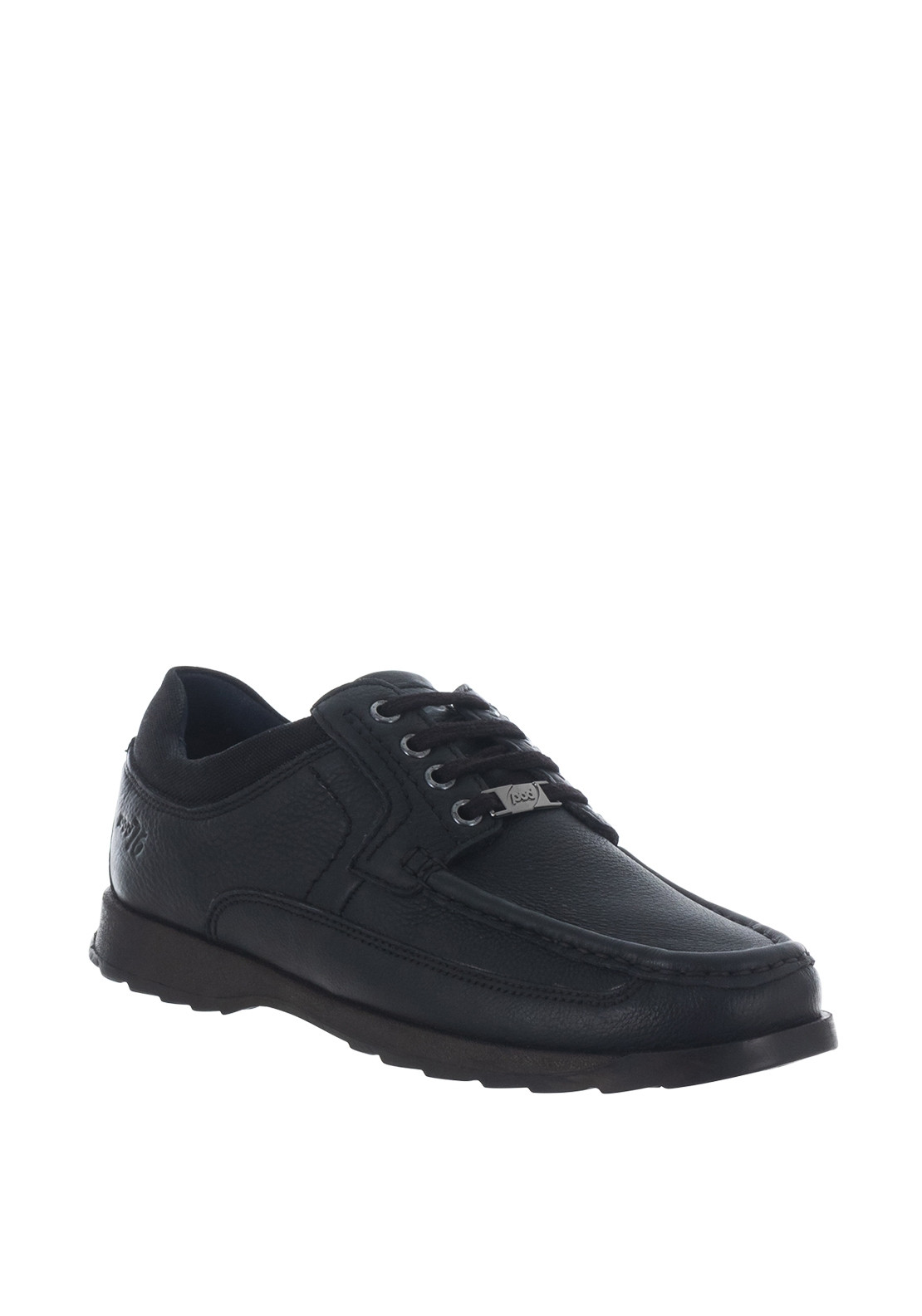 Paul O'Donnell by Pod Rally Lace Up Leather Shoe, Black