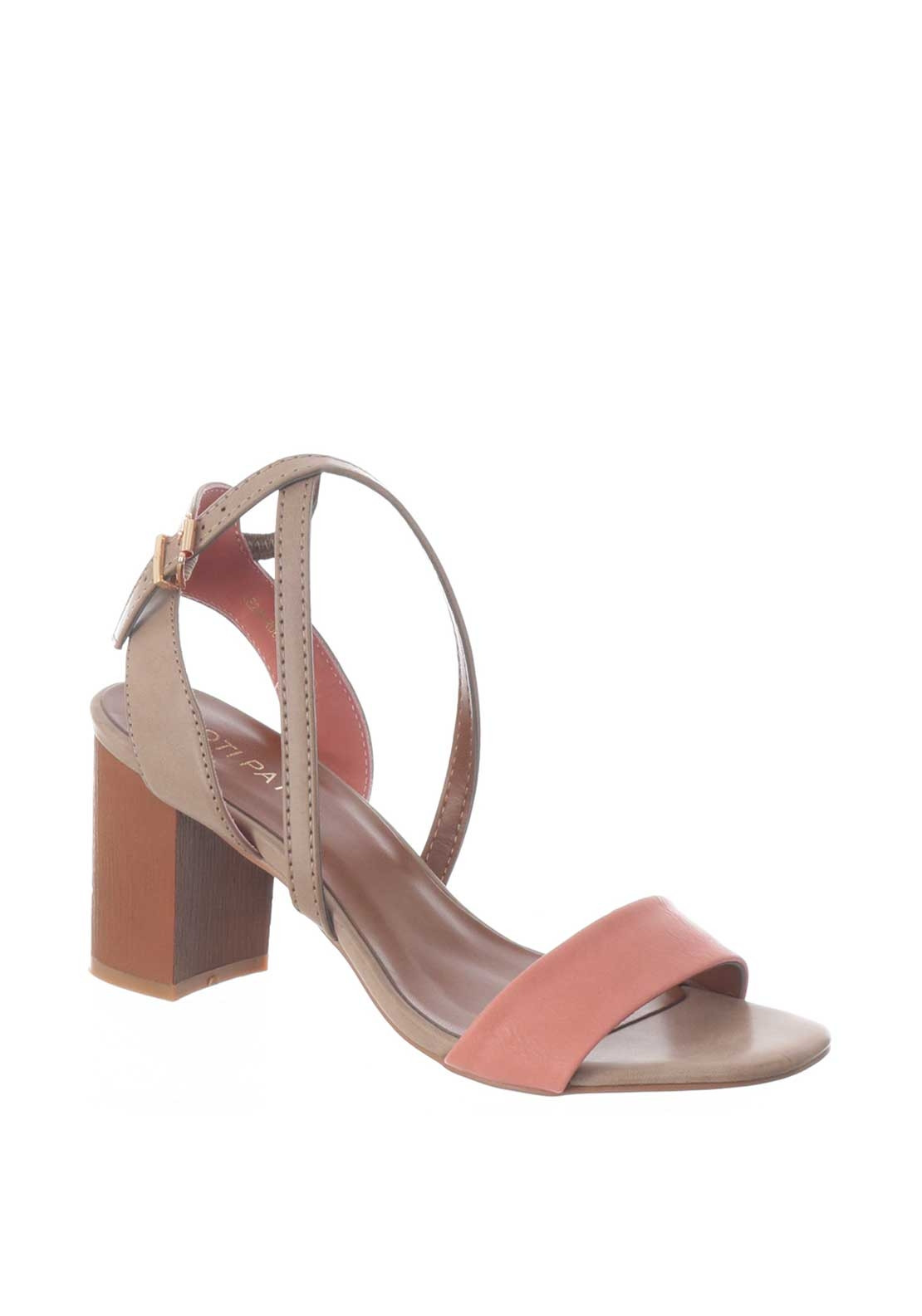 5a437e2b9a Boutique Strappy Block Heel Sandal, Pink. Be the first to review this  product