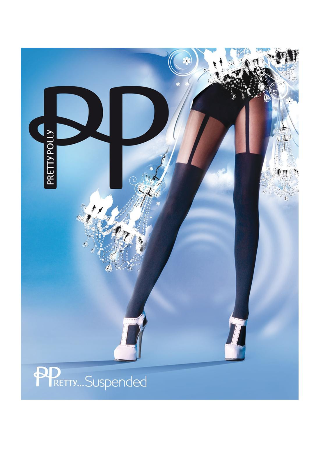 489263032 Pretty Polly Suspender Tights