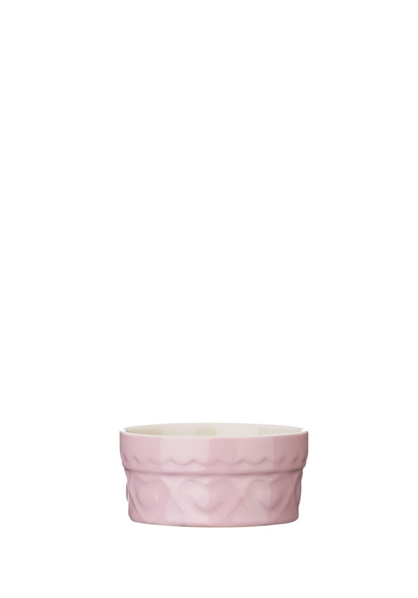 The Sweetheart Collection Pink Hearts Ramekin, 200ml