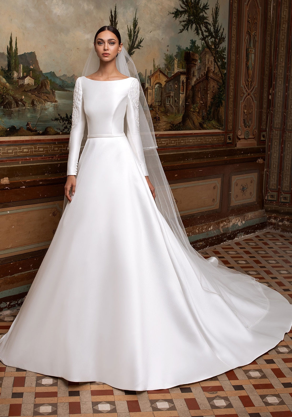 Pronovias Vesta Wedding Dress Off White Mcelhinneys