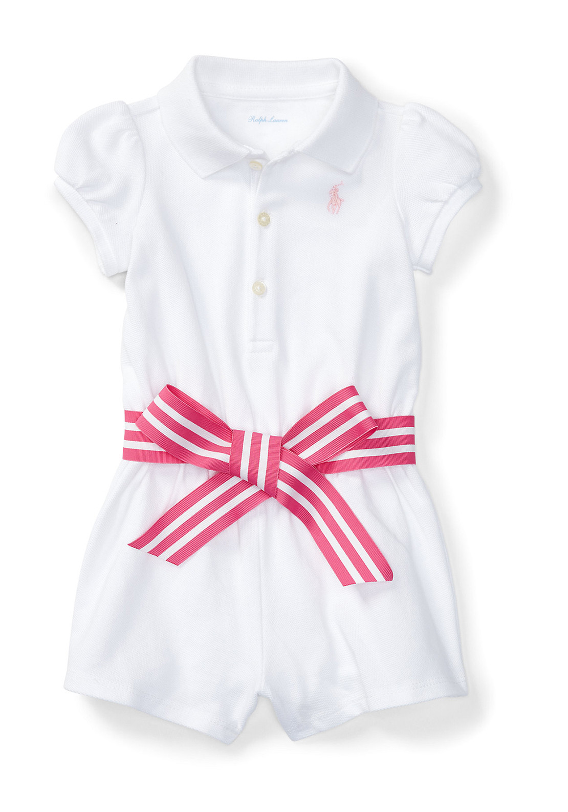 d155f03755 Ralph Lauren Baby Girls Romper Playsuit