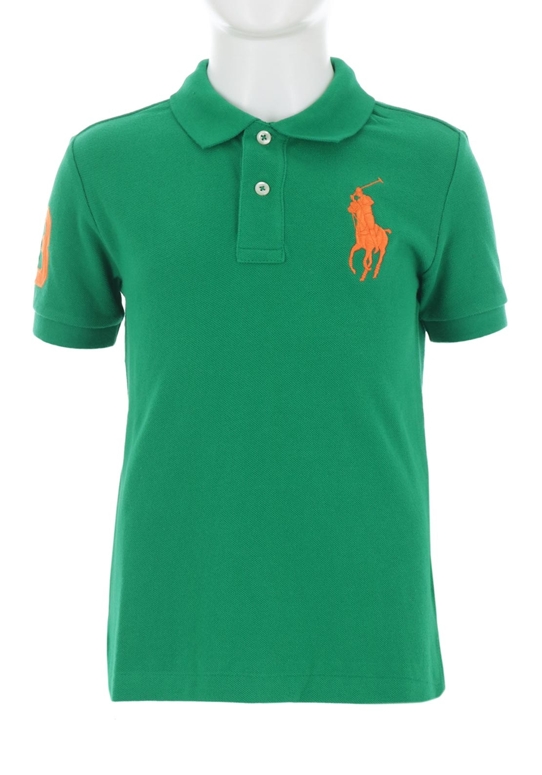 0a6b98632 Ralph Lauren Boys Polo Polo Shirt, Green. Be the first to review this  product