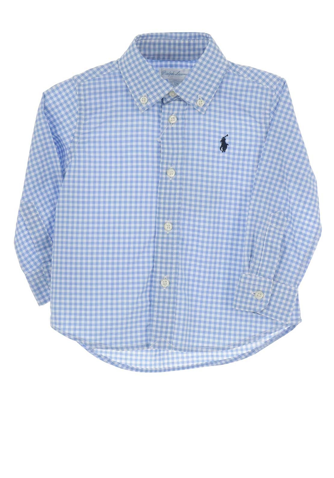 e160006f0 Ralph Lauren Baby Boys Gingham Shirt, Blue. Be the first to review this  product