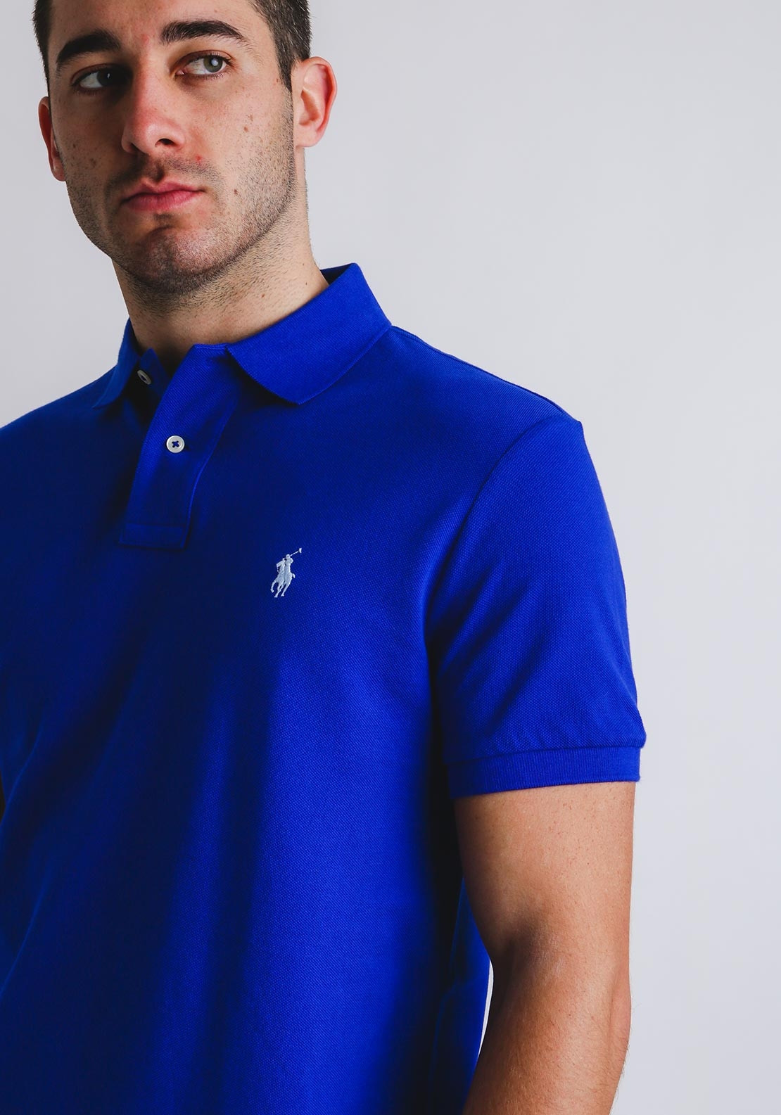 2f325c0b2b Ralph Lauren Custom Slim Fit Polo Shirt,Sea. Be the first to review this  product