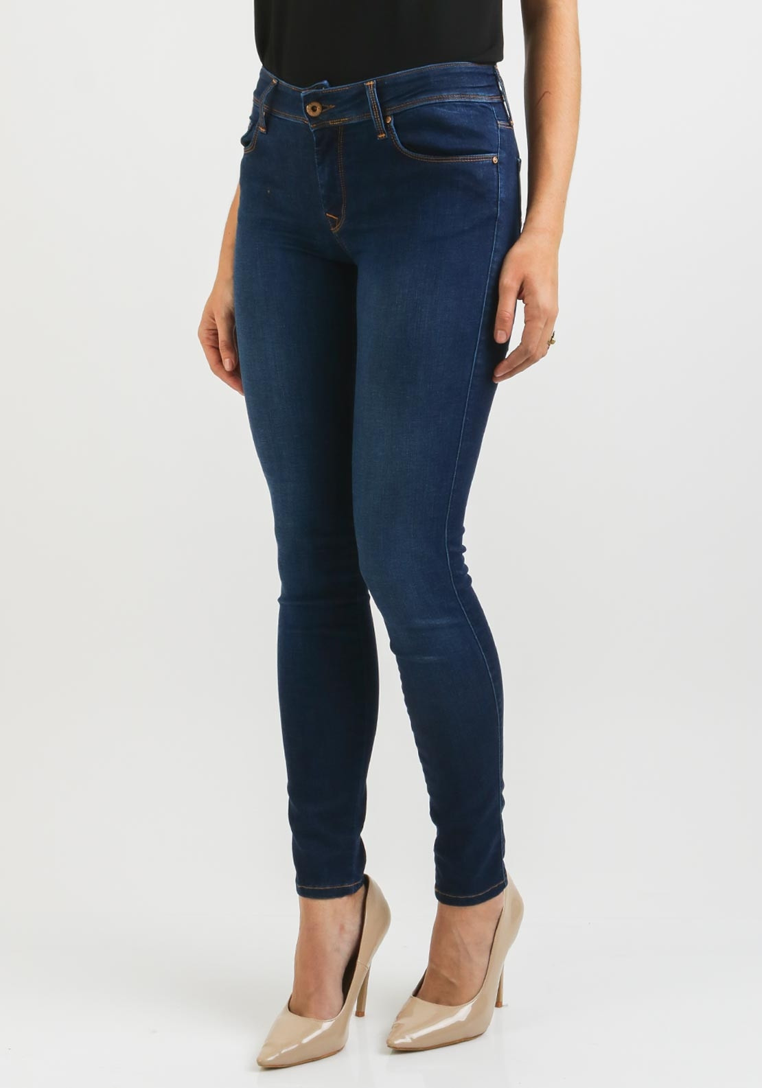 277ac39a0b Salsa Colette Soft Touch Skinny Jeans, Blue | McElhinneys