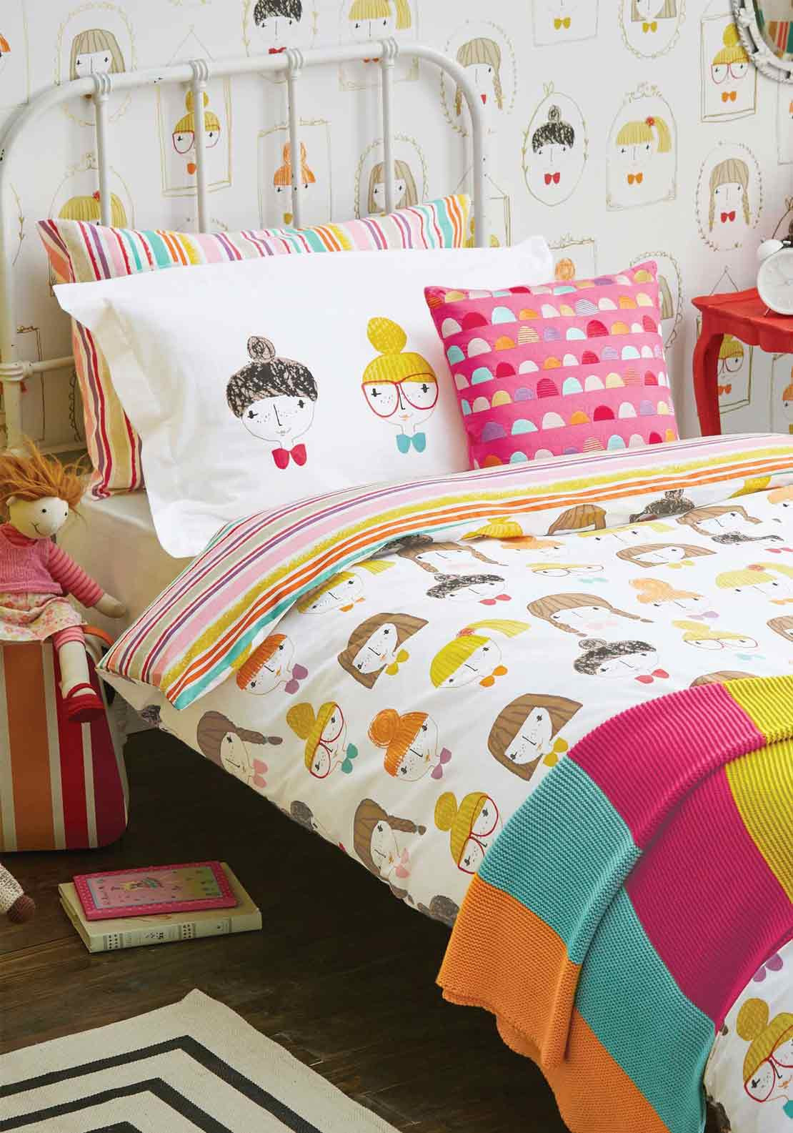 Scion Living Hello Dolly Lined Duvet Cover Set