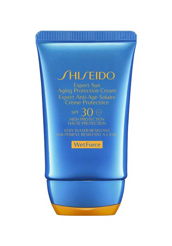 Shiseido Wet Force Expert Sun Aging Protection Cream SPF30, High Protection, 50ml