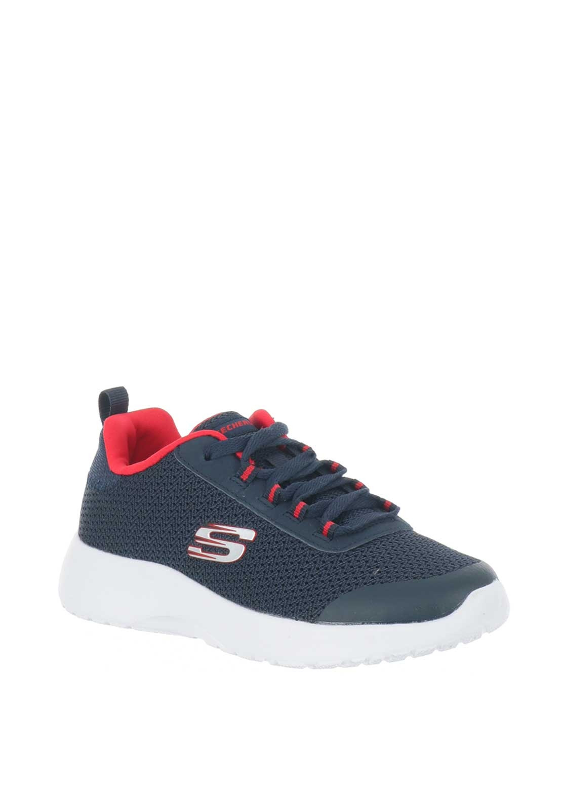 Skechers Boys Knit Memory Foam Trainers