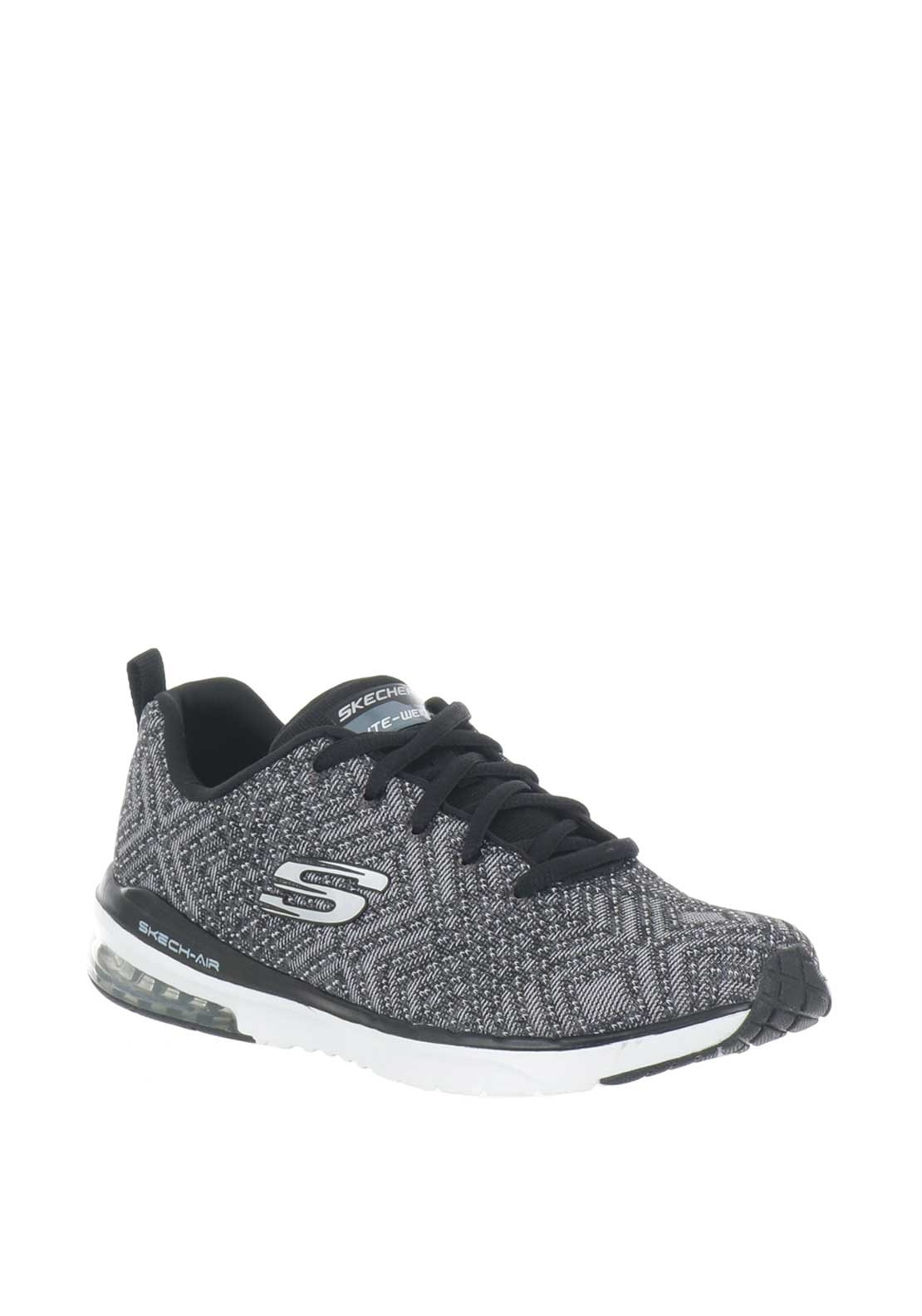985321a6f4 Skechers Womens Knit Lite-Weight Trainers